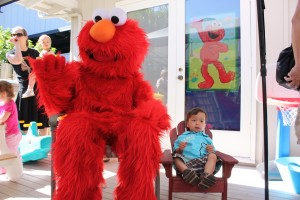 elmo party for two year old ideas