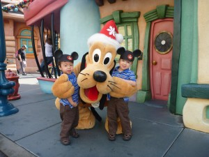 meeting pluto for the first time