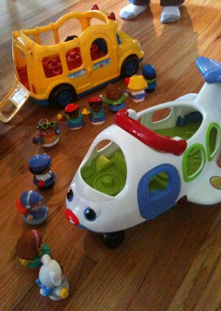 little people airplane fisher price