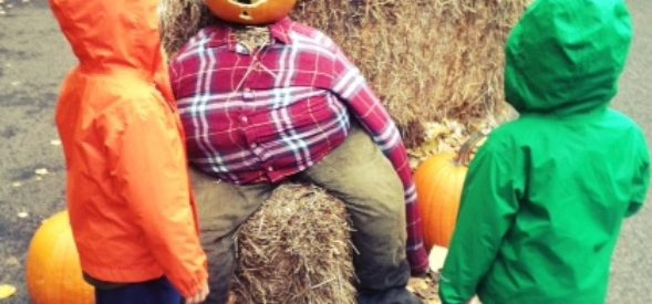 Pumpkin Bash at Woodland Park Zoo in Seattle with kids