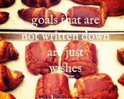 inspiring quote about goals