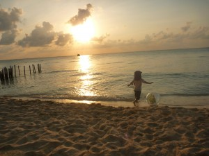 Isla Mujeres with kids