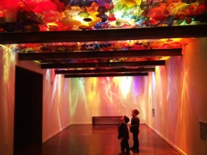 Chihuly garden and glass museum with kids