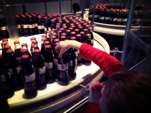 Atlanta with kids at the world of coca cola