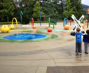 Rocky Point Water Park in Port Moody