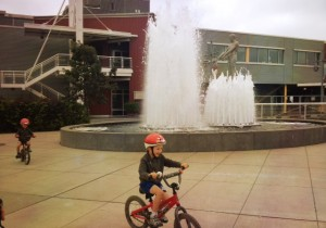 Biking with kids in Seattle