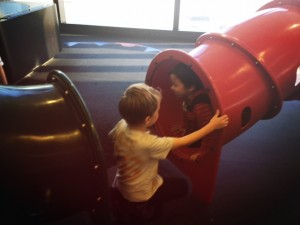 San Francisco airport with kids; family travel