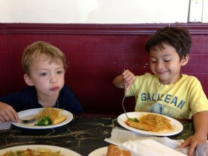 eating out with kids in seattle