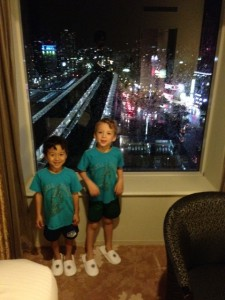 Okayama hotel with kids close to train