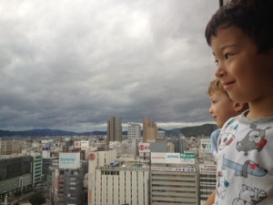 view from hotel granvia a family friendly place in okayama