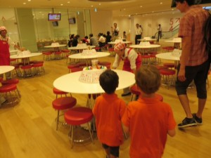 Cup Noodles Museum with kids
