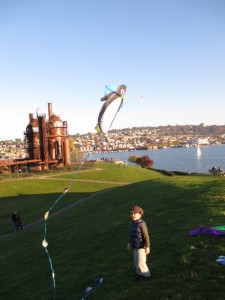 gas works park kites
