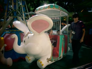rides for kids at ueno zoo