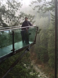 cliffwalk is the scariest part of the capilano suspension bridge with kids
