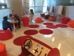 free kids' area at SAM