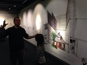 drawn to seattle exhibit