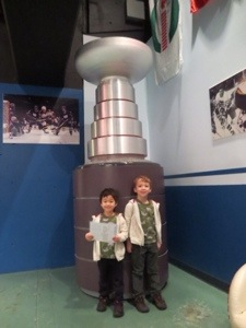 stanley cup model at bc sports hall of fame