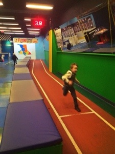 running track at bc sports hall of fame