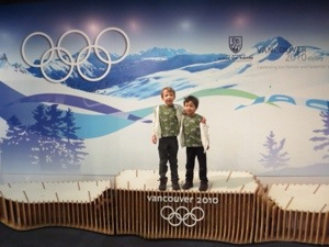 olympic display at BC Sports hall of Fame