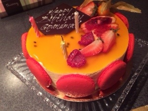 passionfruit cake at Thierry Bakery
