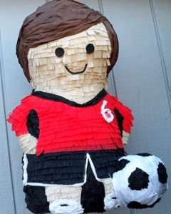 soccer pinata from Whack Pinateria