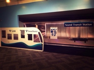 sound transit exhibit at the Seattle Children's Museum