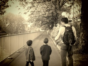 canal near the EMA hotel zurich with kids