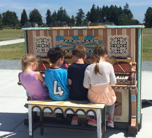 Pianos in the parks in Seattle