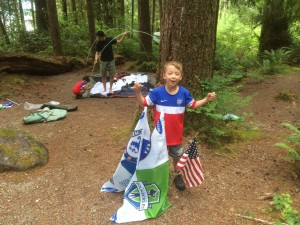 camping at Willaby state park