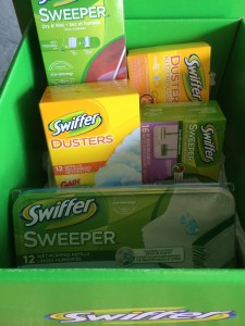 box of swiffer cleaning