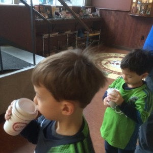 espresso vivace, where kids love their steam milk