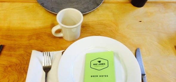 coffee notes at Mae James