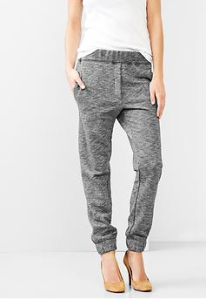 marled gap pants