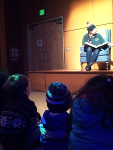 storytime for kids at Woodland Park Zoo wildlights in Zoomazium