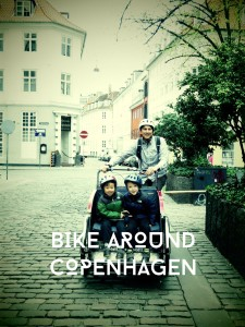 renting bikes in Copenhagen with kids for 3 days