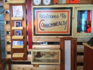 commonwealth cafe in snoqualmie pass decor