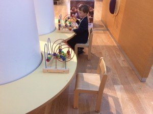 even the airport is kid-friendly in iceland