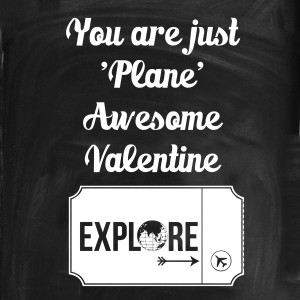 you are just plane awesome valentine card