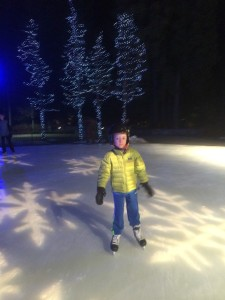 ice skating in whistler