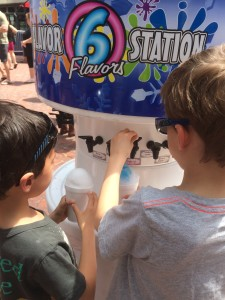 flavor station shave ice