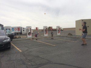 tesla supercharger in Ritzville Washington makes it easy to roadtrip from Seattle