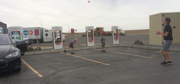 tesla supercharger in Ritzville Washington