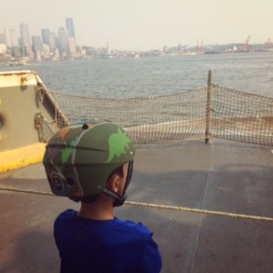 bainbridge island ferry by bike