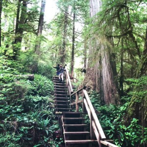 pacific rim national park with kids