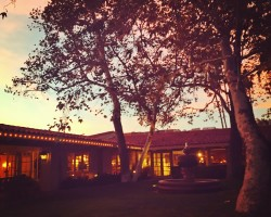 rancho bernardo inn at sunset