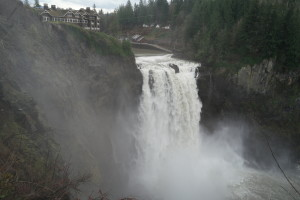 Snoqualmie Falls in December 2015