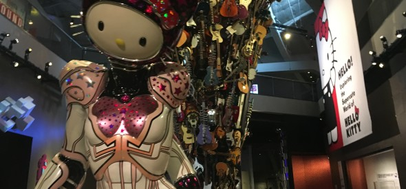 hello kitty Seattle at the EMP