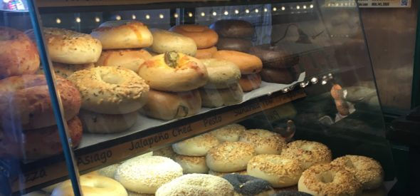 Seattle Bagel Bakery in Pike Place Market