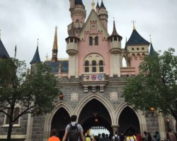 Castle at Hong Kong Disneyland