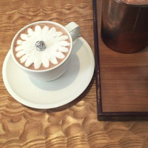 Dominique Ansel Bakery in Tokyo magical hot chocolate